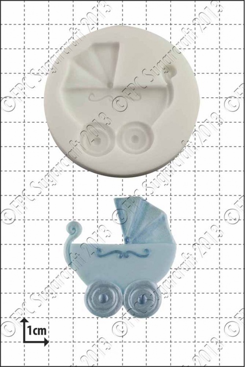 'Baby Carriage' Silicone Mould