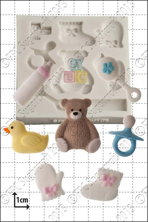 'Baby Shower' Silicone Mould