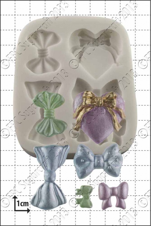 'Bows' Silicone Mould