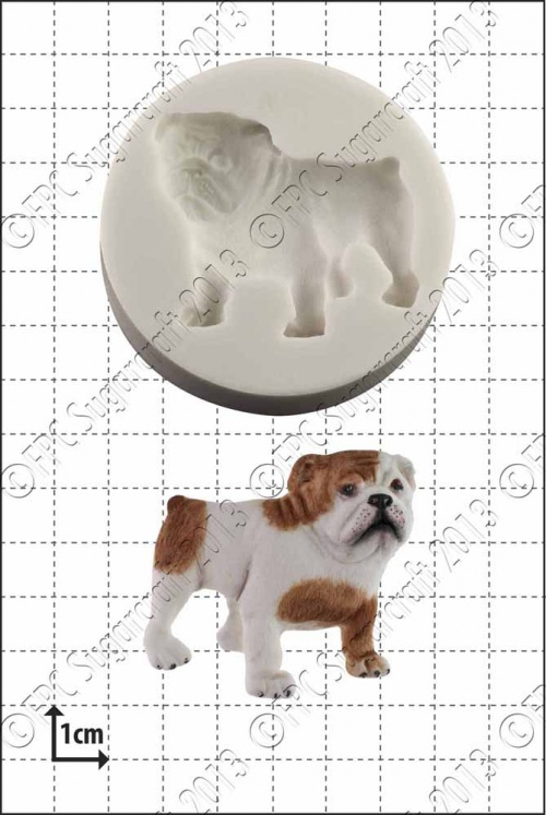 'Bulldog' Silicone Mould