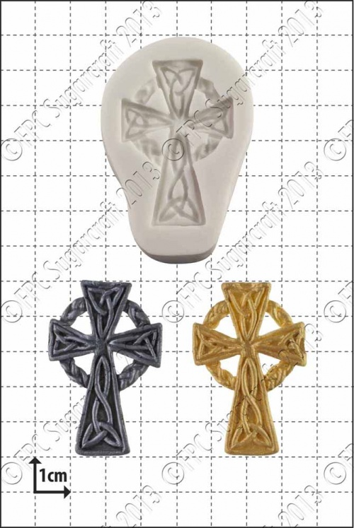 'Celtic cross' Silicone Mould