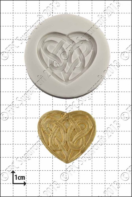 'Celtic Love Knot' Silicone Mould
