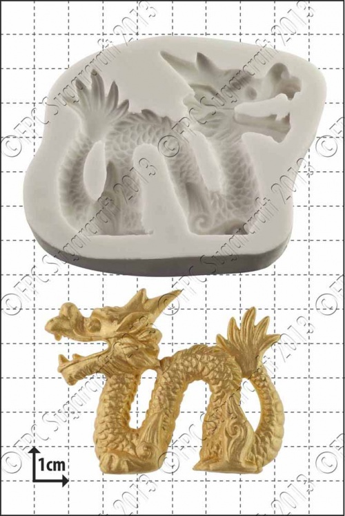 'Chinese Dragon (left)' Silicone Mould