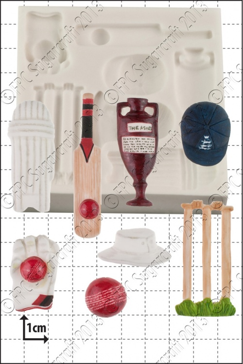 'Cricket' Silicone Mould