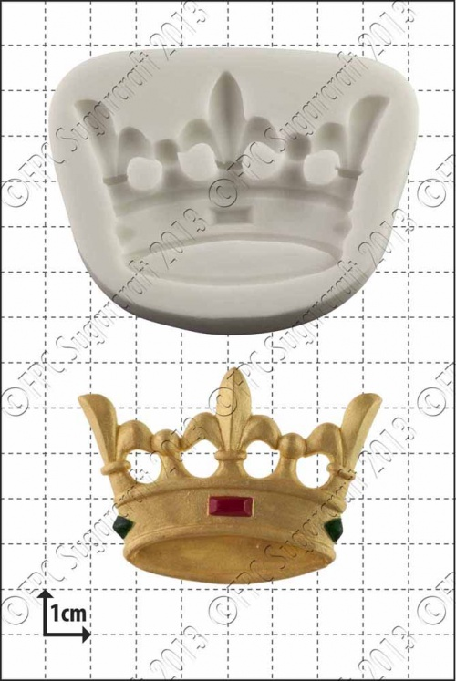 'Crown' Silicone Mould