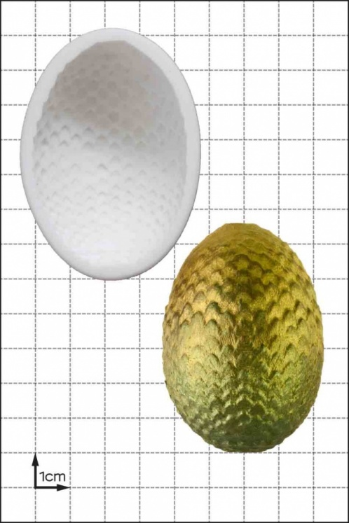 'Dragon Egg (Large)' Silicone Mould