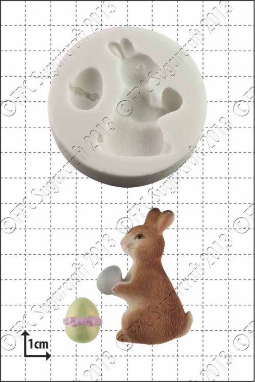 'Easter Bunny' Silicone Mould