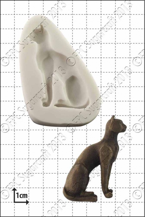 'Egyptian Cat' Silicone Mould