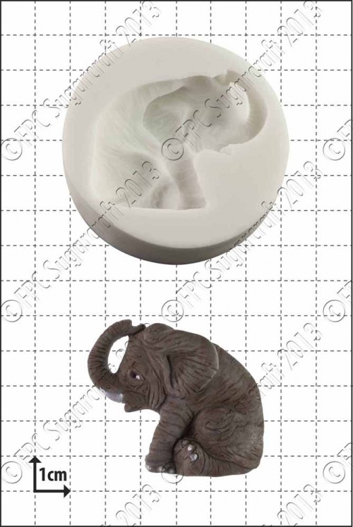 'Elephant' Silicone Mould