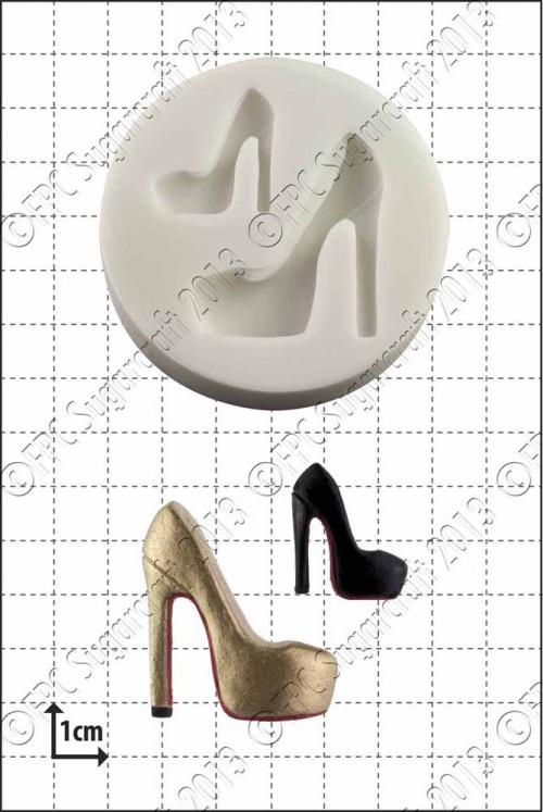 'Fashion Shoe (4)' Silicone Mould