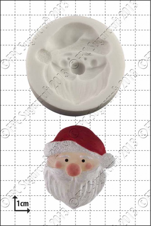'Father Xmas' Silicone Mould