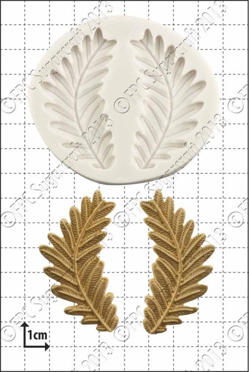 'Fern Fronds' Silicone Mould