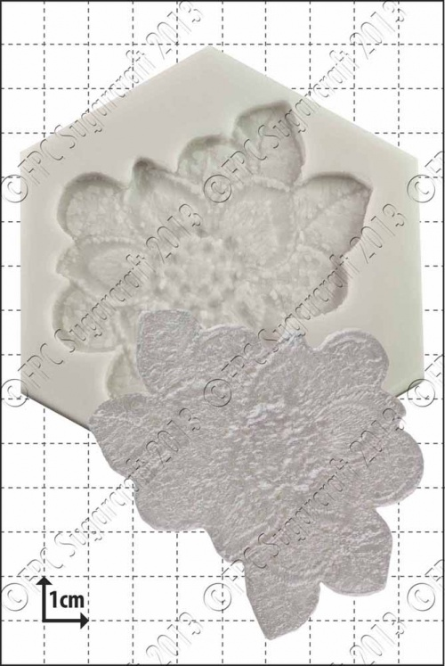 'Floral Lace Mould' Silicone Mould