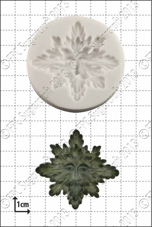 'Green Man' Silicone Mould