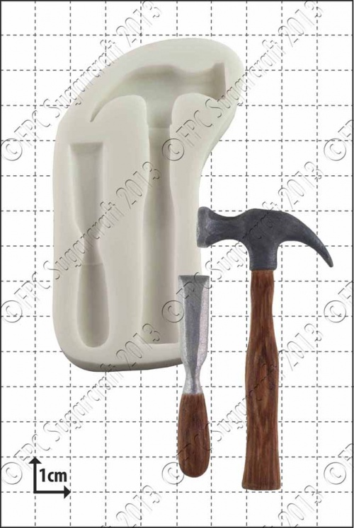 'Hammer & Chisel' Silicone Mould