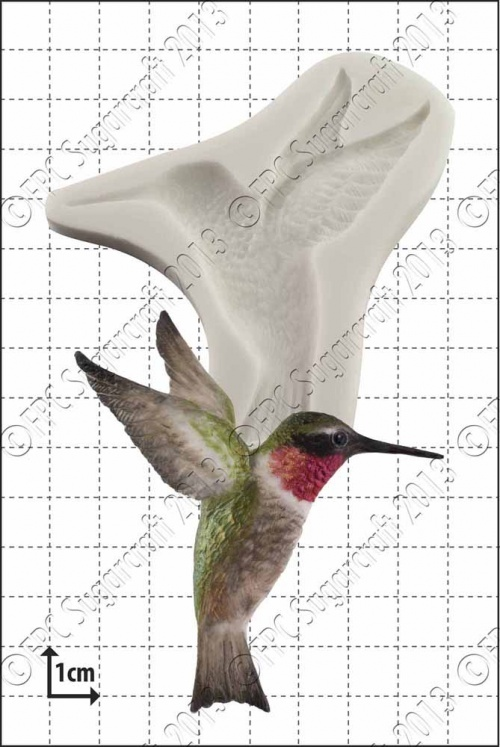 'Humming Bird' Silicone Mould