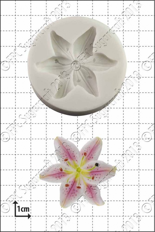 'Lily' Silicone Mould