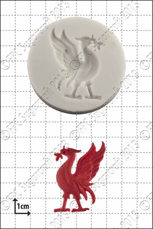 'Liver Bird' Silicone Mould