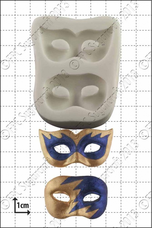 'Masquerade Masks' Silicone Mould