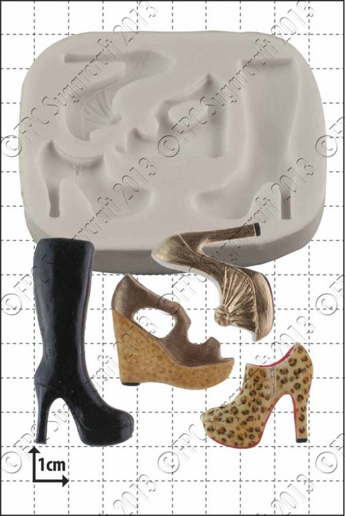 'Multi Shoe' Silicone Mould