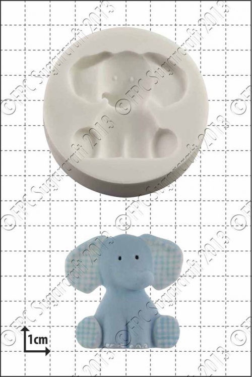 'Nursery Elephant' Silicone Mould