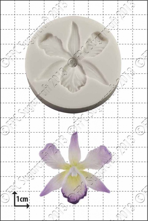 'Orchid' Silicone Mould