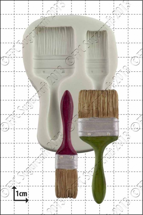'Paint Brushes' Silicone Mould
