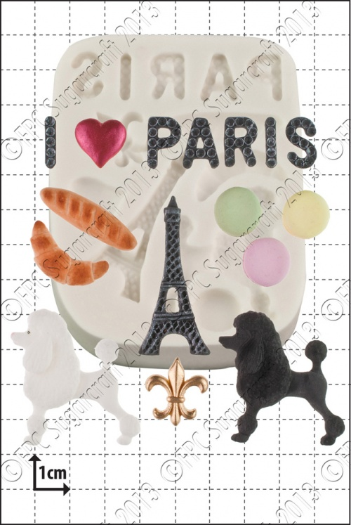 'Paris' Silicone Mould