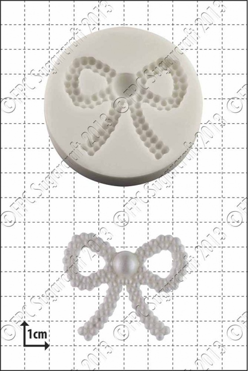 'Pearl Bow' Silicone Mould