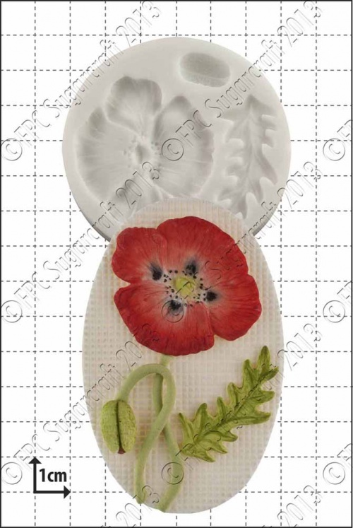 'Poppy Kit' Silicone Mould
