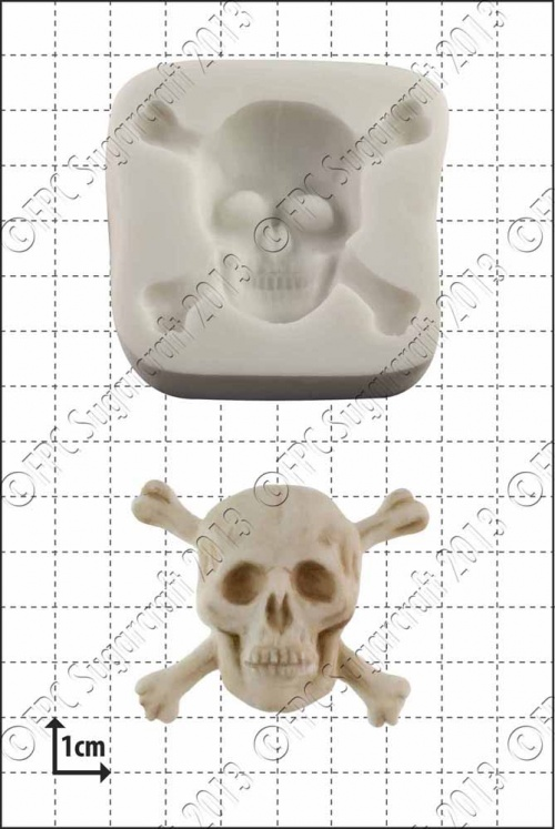'Skull & Crossbones' Silicone Mould