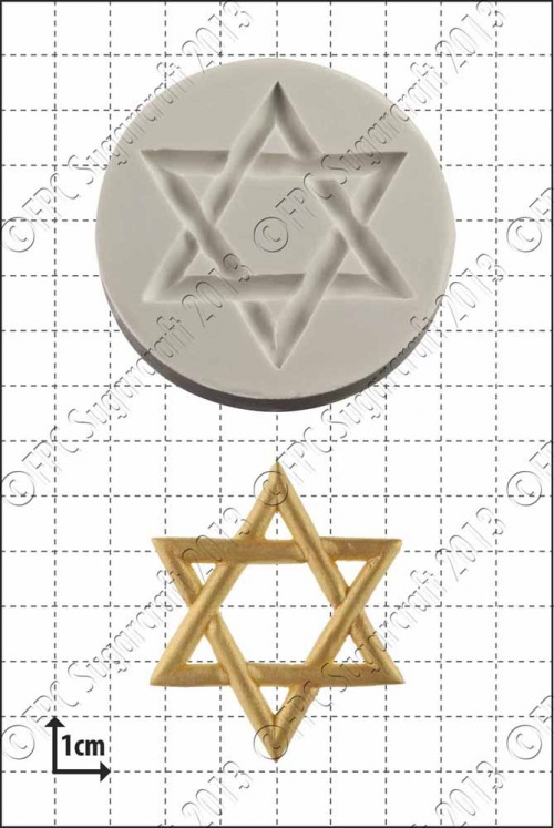 'Star of David' Silicone Mould