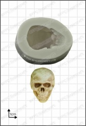 '3D Skull' Silicone Mould