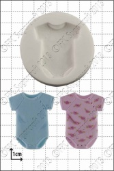 'Baby Sleep Suit' Silicone Mould
