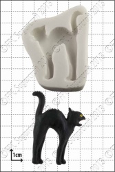 'Black Cat' Silicone Mould