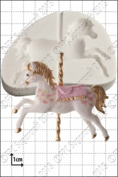 'Carousel Horse' Silicone Mould