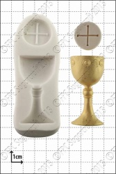 'Chalice & Host' Silicone Mould