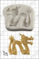 'Chinese Dragon (Right)' Silicone Mould