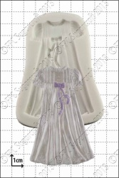 'Christening Gown' Silicone Mould