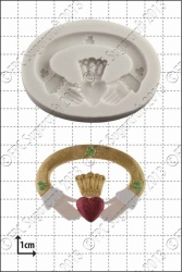 'Claddagh' Silicone Mould