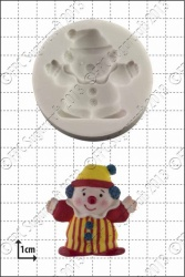 'Clown' Silicone Mould