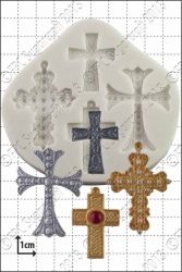'Crosses' Silicone Mould