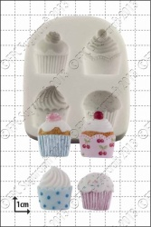 'Cupcakes' Silicone Mould