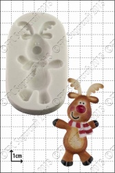 'Dancing Rudolph' Silicone Mould