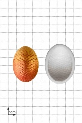'Dragon Egg (Small)' Silicone Mould