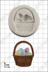 'Easter Basket' Silicone Mould
