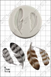 'Feathers' Silicone Mould