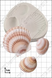 'Large Shells' Silicone Mould