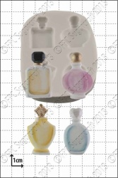 'Perfume Bottles' Silicone Mould