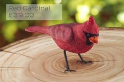 'Red Cardinal' Silicone Mould